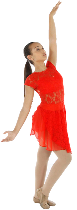 Lyrical Red Dress